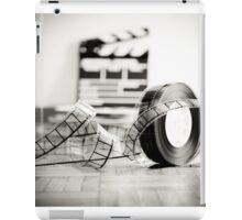 Clapperboard & Film iPad Case/Skin
