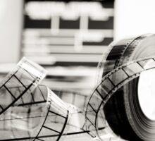 Clapperboard & Film Sticker