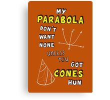 My Parabola Canvas Print