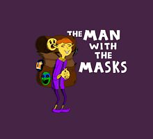 The Man with the Masks Unisex T-Shirt