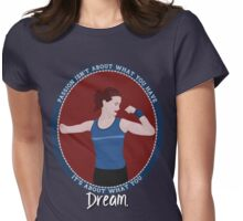Passion: Runner Womens Fitted T-Shirt