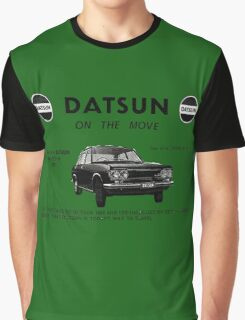 Datsun on the Move 1600 P510 Graphic T-Shirt