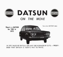 Datsun on the Move 1600 P510 by jacqs