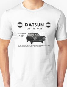 Datsun on the Move 1600 P510 Unisex T-Shirt