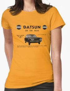 Datsun on the Move 1600 P510 Womens Fitted T-Shirt