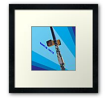 Rock Out Framed Print