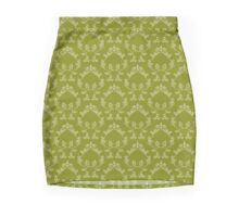 Abstract floral pattern Mini Skirt