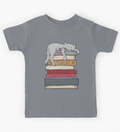 How to Chill Like a Cat Kids Tee