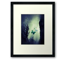 On The Wings of Chaos Framed Print