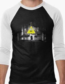 Gravity Falls Dipper Bill Cipher Men's Baseball ¾ T-Shirt