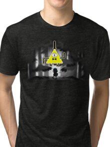 Gravity Falls Dipper Bill Cipher Tri-blend T-Shirt