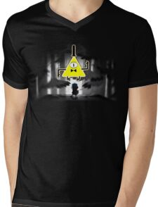 Gravity Falls Dipper Bill Cipher Mens V-Neck T-Shirt