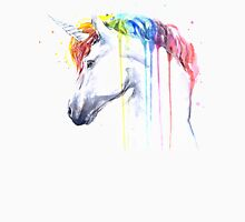 Rainbow Unicorn Watercolor Unisex T-Shirt