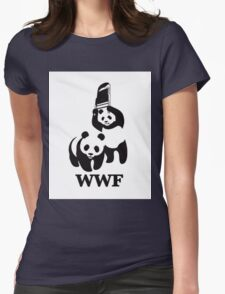 World Wide Fund for Panda Fighting  Womens Fitted T-Shirt