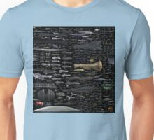 Starship full Unisex T-Shirt