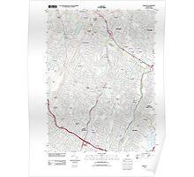 USGS TOPO Map New Jersey NJ Orange 20110412 TM Poster