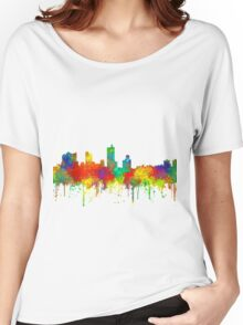 Fort Worth, Texas Skyline - SG Women's Relaxed Fit T-Shirt
