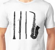 Wind Instruments Unisex T-Shirt