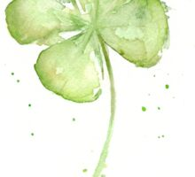 Lucky Charm Four Leaf Clover Sticker