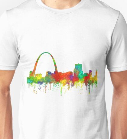 Gateway Arch, St Louis, Missouri Skyline - SG Unisex T-Shirt