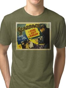 Gangster Movie - Scarface 1932 Tri-blend T-Shirt