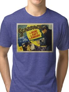 Gangster Movie - Scarface 1932 Tri-blend T-Shirt