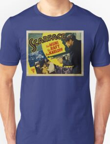 Gangster Movie - Scarface 1932 Unisex T-Shirt