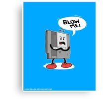 Blow Me NES  Canvas Print