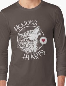 Howling Hearts Long Sleeve T-Shirt