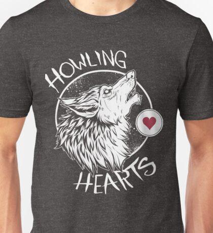 Howling Hearts Unisex T-Shirt