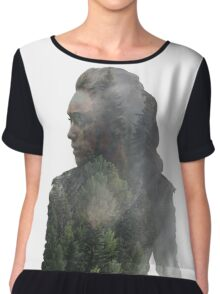 Lexa - The 100 Chiffon Top
