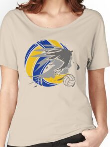 Sporty Haikyuu Bird (Volleyball) - Anime Women's Relaxed Fit T-Shirt