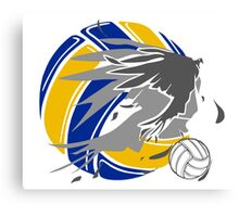 Sporty Haikyuu Bird (Volleyball) - Anime Canvas Print