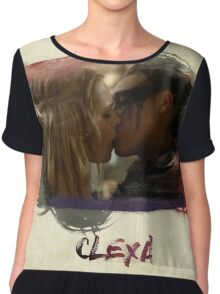 Clexa - The 100 - Brush Kiss Chiffon Top