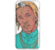 young thug art iPhone Case/Skin