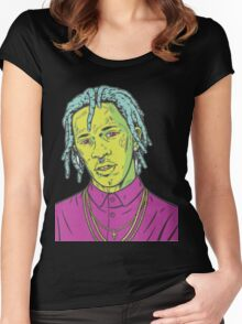 young thug art Women's Fitted Scoop T-Shirt