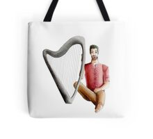 The guy who loves his harp Tote Bag