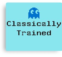 Classically Trained - 80s Computer Gamer T-Shirt Sticker Canvas Print