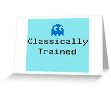 Classically Trained - 80s Computer Gamer T-Shirt Sticker Greeting Card