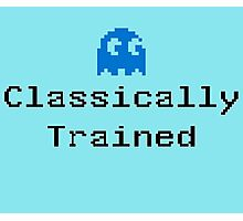 Classically Trained - 80s Computer Gamer T-Shirt Sticker Photographic Print