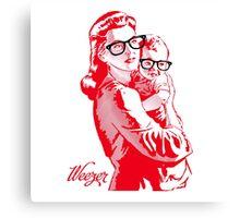 REZEEW : MON & SON Canvas Print