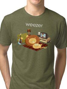 REZEEW : HOME LIKE ZOO Tri-blend T-Shirt