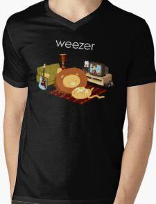 REZEEW : HOME LIKE ZOO Mens V-Neck T-Shirt