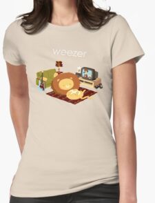 REZEEW : HOME LIKE ZOO Womens Fitted T-Shirt