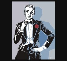 Fred Astaire Portrait Kids Tee