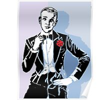 Fred Astaire Portrait Poster