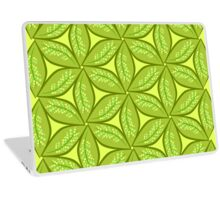 Leaves and patterns Laptop Skin