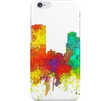 Little Rock, Arkansas Skyline - SG iPhone Case/Skin