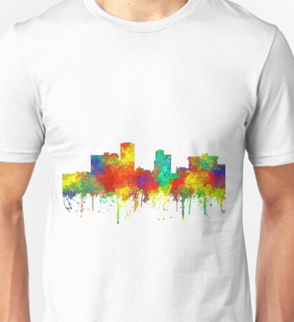 Little Rock, Arkansas Skyline - SG Unisex T-Shirt