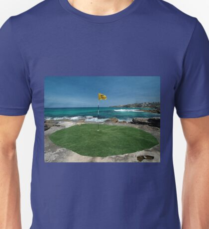 18th Hole, Sculptures By The Sea, Australia 2011 Unisex T-Shirt